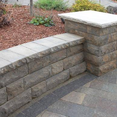 Belgard Retaining Wall Systems At Rock And Block Ca