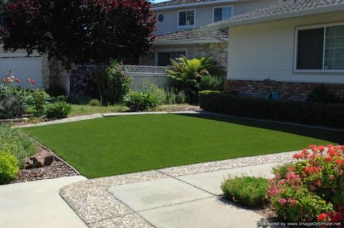 Residential Turf Install